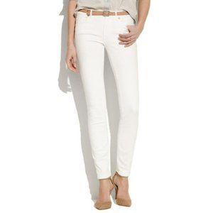 Madewell Skinny Skinny White Jeans Size 27